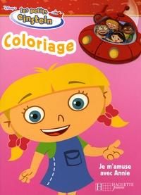 Disney - Je m'amuse avec Annie - Coloriage.