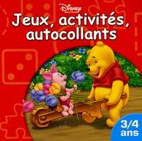 Disney - Jeux, activités, autocollants - 3/4 ans.