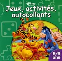 Disney - Jeux, activités, autocollants - 5/6 ans.