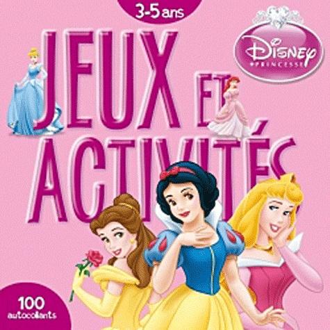 Disney - Jeux et activités 3-5 ans Disney Princesse.