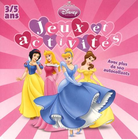 Disney - Jeux et activités 3/5 ans.