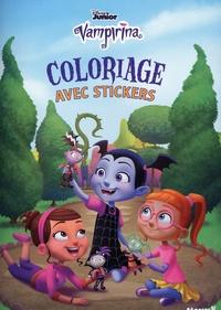 Livres électroniques complets à télécharger gratuitement Coloriage avec stickers Vampirina 9782508046469 par Disney Junior
