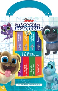 Disney Junior - Le monde de Bingo & Rolly - Coffret en 12 volumes.