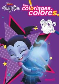 Disney Junior et Florine Thonnard - Mes coloriages colorés Vampirina.