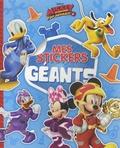 Disney Junior - Mes stickers géant Mickey et ses amis Top Départ !.