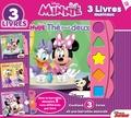 Disney Junior - Minnie - 3 livres et une barrette musicale.