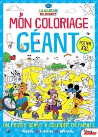 Mon Coloriage Géant La Maison De Mickey Poster Disney Junior