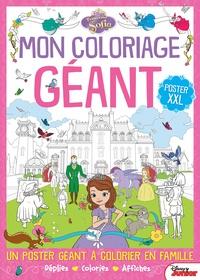 Mon Coloriage Géant Princesse Sofia Poster Xxl Disney Junior