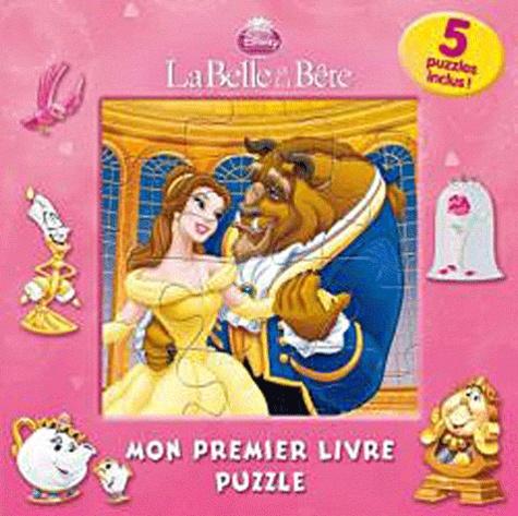 Disney - La Belle et la Bête - Mon premier livre puzzle.