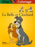 Disney - La Belle et le Clochard - Coloriage.