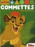 Disney - La garde du Roi Lion - Gommettes pour les petits.