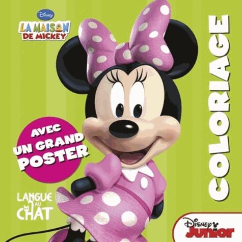 Disney - La maison de Mickey coloriage - Avec un grand poster Minnie.