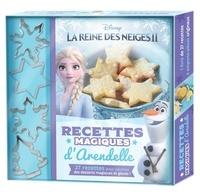 Disney - La Reine des Neiges II - Recettes magiques d'Arendelle, avec 4 emporte-pièces originaux.