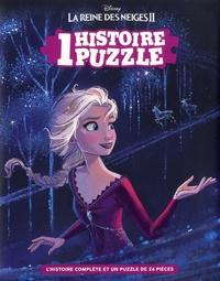 Disney - La Reine des Neiges II - L'histoire complète et un puzzle de 24 pièces.