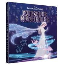 Disney - La Reine des Neiges II - 5 puzzles 25 pièces.