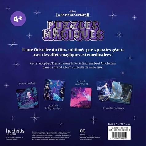 La Reine des Neiges II. 5 puzzles 25 pièces