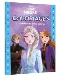 Disney - La Reine des Neiges II - Les scènes du film à colorier.