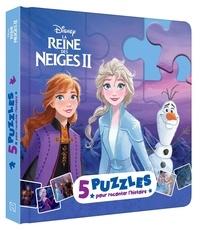Disney - La Reine des Neiges II - 5 puzzles pour raconter l'histoire.