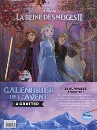 Disney - La Reine des Neiges II - Calendrier de l'Avent à gratter, 1 stylet inclus.
