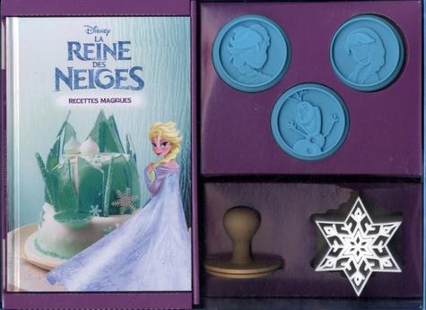 La Reine Des Neiges Recettes Magiques Avec 1 Livre De Recettes 3 Tampons Et 1 Emporte Piece