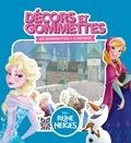 Disney - La Reine des neiges - Décors et Gommettes.