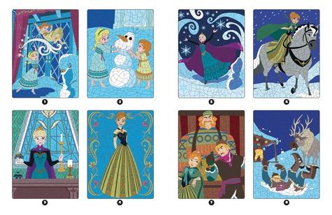 La Reine des Neiges. Coloriages magiques - Mystères  Edition 2019