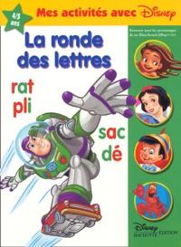 Disney - La ronde des lettres 4 / 5 ans.