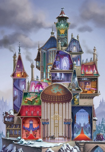 Le château magique de Belle