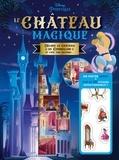 Disney - Le château magique de Cendrillon - Un poster géant avec plus de 50 stickers repositionnables.