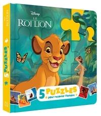 Disney - Le Roi Lion - 5 puzzles pour raconter l'histoire.