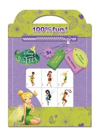 Disney - Les fées Disney 100% fun ! - Un livre de jeux, une histoire, plein de stickers.