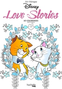 Deedr.fr Love stories Disney - 60 coloriages anti-stress Image