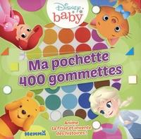 Disney - Ma pochette 400 gommettes Disney Baby.