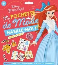 Disney - Ma pochette de mode Virée en ville - Contient 5 tableaux, 100 stickers, 50 strass, 7 coloriages.
