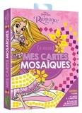 Disney - Mes cartes mosaïques Raiponce - Les ateliers. Avec 1 livre, 6 cartes à compléter, 6 planches de mosaïques en mousse.