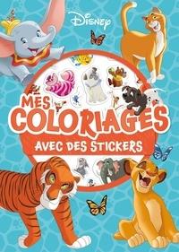 Disney - Mes coloriages avec des stickers.