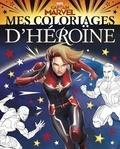 Disney - Mes coloriages d'héroïnes Captain Marvel.