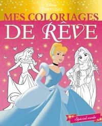 Disney - Mes coloriages de rêve Disney Princesses - Spécial mode.
