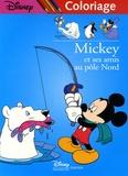 Disney - Mickey et ses amis au pôle Nord - Coloriage.