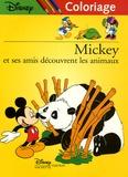 Disney - Mickey et ses amis découvrent les animaux - Coloriage.