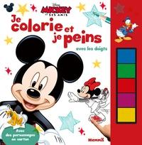 Mickey et ses amis Je colorie et je peins avec les doigts.pdf