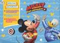 Disney - Mickey et ses amis Top Départ ! Spécial vacances ! - Avec un livret d'activités et de coloriages, un livret de scènes à décorer, trois planches de stickers.