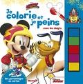 Disney - Mickey et ses amis, top départ - Je colorie et je peins avec les doigts.