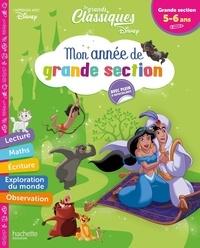 Disney - Mon année de grande Section - Les grands classiques Disney. Avec plein d'autocollants.