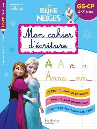 Mon cahier d'écriture Disney La Reine des Neige II. GS-CP
