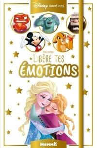 Disney - Mon carnet Libère tes émotions.