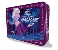 Disney - Mon coffret magique La Reine des neiges II - Avec 1 livre de jeux et coloriage, 1 toise, des autocollants, 1 poster, 12 crayons de couleur.