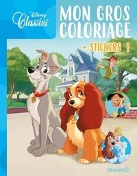 Disney - Mon gros coloriage Disney Classics - Avec des stickers.