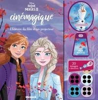 Mon livre cinémagique La Reine des neiges 2- L'histoire du film et un projecteur -  Disney |