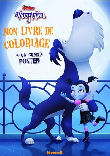 Coloriage Disney Grand Format.Mon Livre De Coloriage Vampirina Avec Un Grand Poster Grand Format